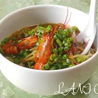 アジアン辛味海老麺