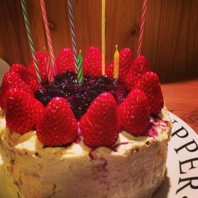 卵・乳不使用 バースデーケーキ