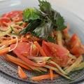 野菜たっぷり具だくさんビビン素麺☆