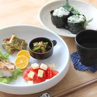 【 JCと夫3人分のお弁当とワンプレート朝ごはん 】