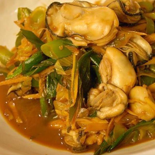 牡蠣の、レシピアップしました。(リンク貼り直しました)
