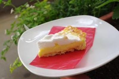Lemon Pie レモンパイを食べてみました!