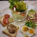 小岩井純良バターで欲ばりトーストなブランチ♪ by とまとママさん