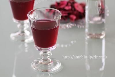赤紫蘇ジュース レシピブログ連載