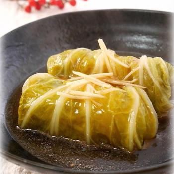 とろ〜り中華風*ロール白菜