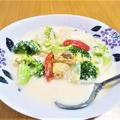 【魚介レシピ】鉄分豊富♡うま味フル活用『あさりの味噌チャウダー』