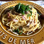 【レンジで1発!!パスタシリーズ】きのこのコンソメバター醤油スパゲティ