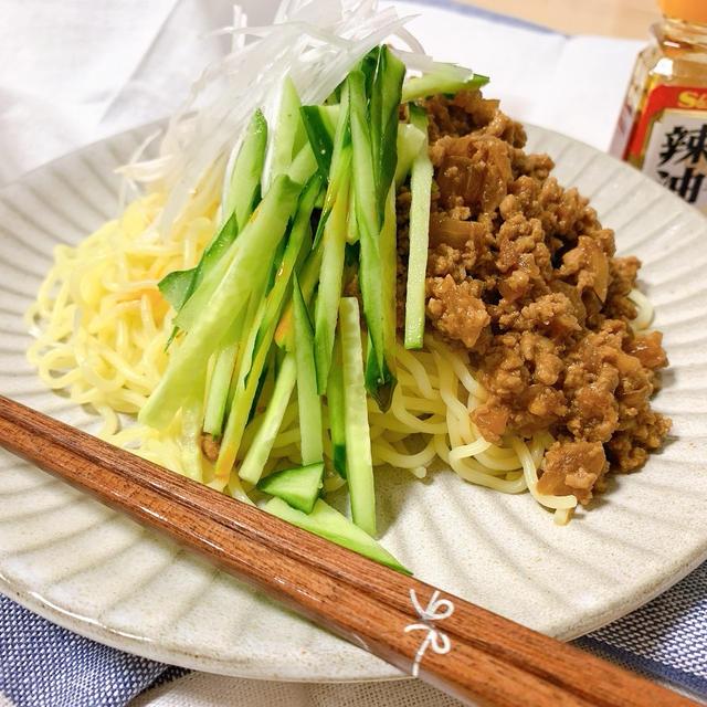 【レシピ】焼きそば麺で作る、絶品ピリ辛ジャージャー麺