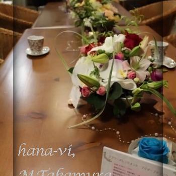 hana-vi作品展へ♪