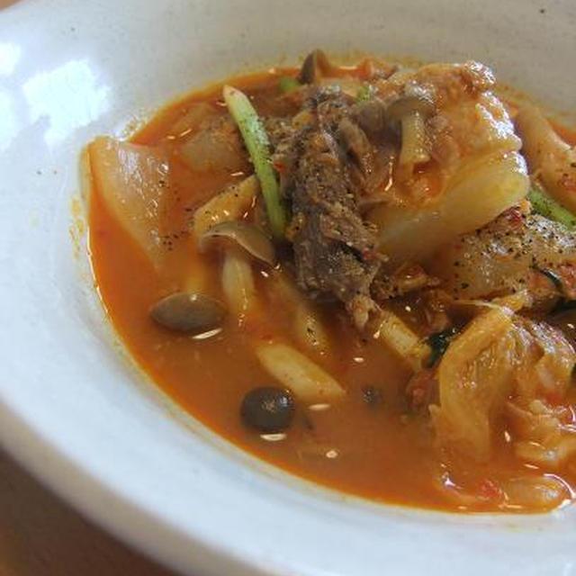 豚バラ軟骨のキムチ煮