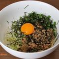 焼き肉のたれと麺つゆベースで作る『レンチン台湾風まぜそば』~グルラボプラス・電子レンジ・簡単~