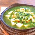 野菜の本気!沁み度が凄い柚子胡椒の緑麻婆豆腐(糖質6.0g)