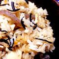 えのきと高野豆腐・ひじきの炊き込みご飯♪