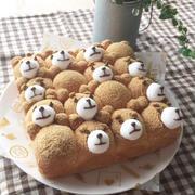 テッドなきな粉ちぎりパン by ハウルさん