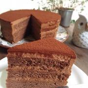 チョコ好き娘のための♪生チョコケーキ♪