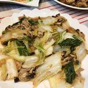 白菜ときのこのとろ煮