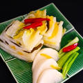 ★白い白菜キムチ(韓国のビアホールの定番キムチ)。 by いもさん