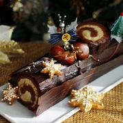 クリスマスはブッシュドノエルで♪