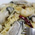超簡単に作れる♪牡蠣のアヒージョ→パスタ☆ by 千春**さん