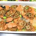 鮭の南蛮漬け。お弁当用冷凍作りおきおかず。 by akkeyさん