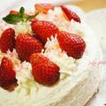 大好き♪苺のケーキ