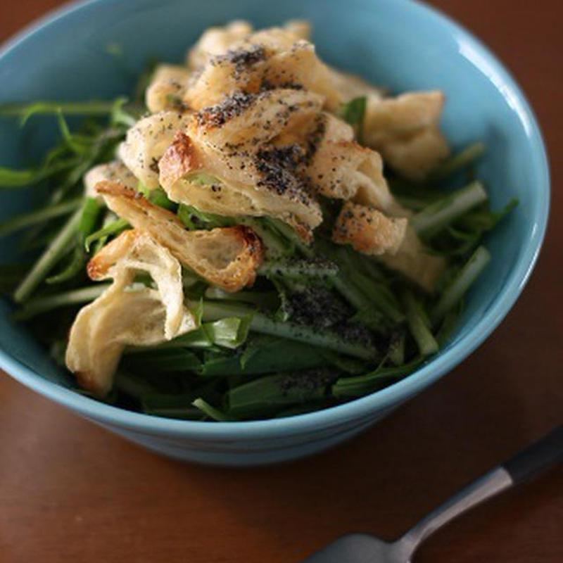 副菜にぴったり♪15分以内で作れる「水菜×油揚げ」のお手軽レシピ