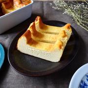 バットで気軽に。【ベイクドチーズケーキ】#レシピブログ #連載