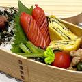 【お弁当】お弁当作り/ワンパン弁当/青椒肉絲