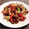 牛肉カラフル野菜のガラムマサラ炒め