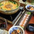 ◆豆乳トマトチーズ鍋に豚の角煮♪~緩やか糖質制限中