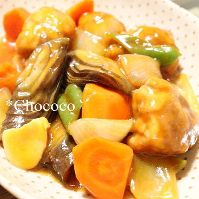 ふんわり酢豚 レシピ