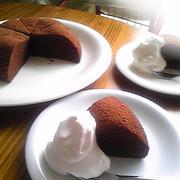 炊飯器de濃厚チョコケーキ