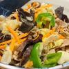 野菜ときのこたっぷり焼きビーフン