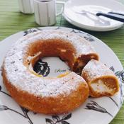 バニラビーンズのチーズクリーム入りキャロットケーキ