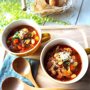 お豆をもっとおいしく♪具だくさんのチャウダーレシピ