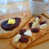 あんバター&あんこクリームチーズブランナン♪ウインナーハーブキャベツチーズパン・ミックスフルーツパン♪