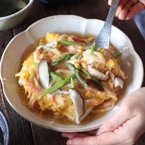 手軽にボリュームアップ!「かに玉×豆腐」のアレンジレシピ