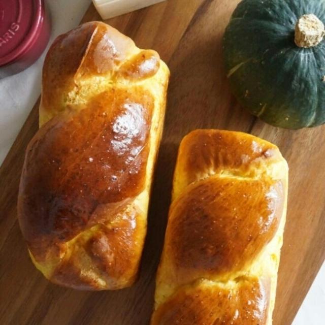 かぼちゃの山食パン