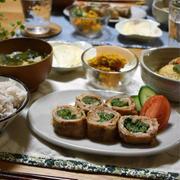 【レシピ】豆苗ロールの生姜焼き✳︎ご飯のおかず✳︎主菜