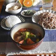 【レシピ】トマトつけ麺✳︎蕎麦…試合当日朝ごはん。