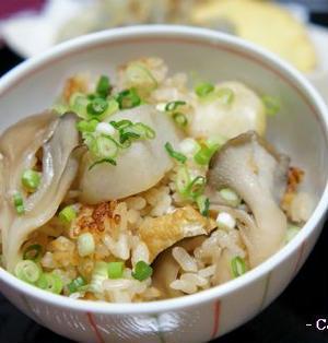 里芋と舞茸の炊き込みご飯