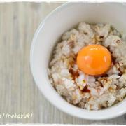 【冷凍卵】濃厚クリーミーな「卵かけご飯」を作ってみました。