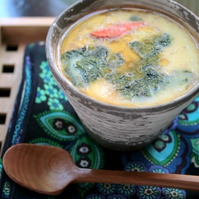 韓国海苔の茶碗蒸し、ジョージタウンカップケーキ