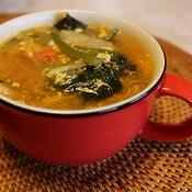 元気の出る朝スープ