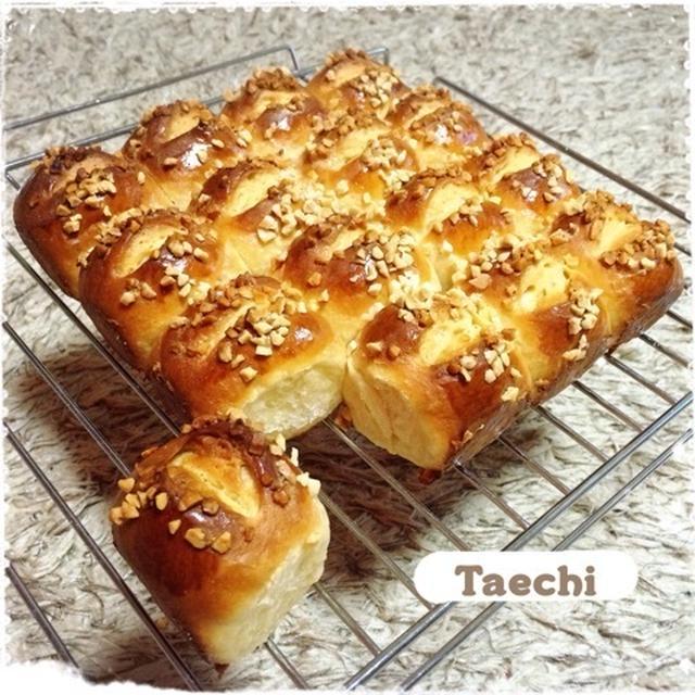 生クリームのコク♡キャラメルちぎりパン