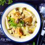 ♡フライパンde超簡単♡チキンときのこのチーズスープ煮♡【#時短#しめじ#鶏もも肉#スライスチーズ】