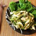 ど安定の旨さ。オイスター塩麹の濃旨ゴーヤささみ青椒肉絲(糖質6.5g) by ねこやましゅんさん