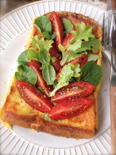 《レシピ》イタリアンなお食事フレンチトースト