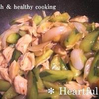 胡瓜と鶏ささみの酢豚風~レシピ付~