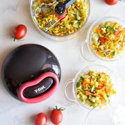 5秒でチョップ♥電気不要♥ひっぱるだけ【#サラダ #暮らしを楽にする調理器具】